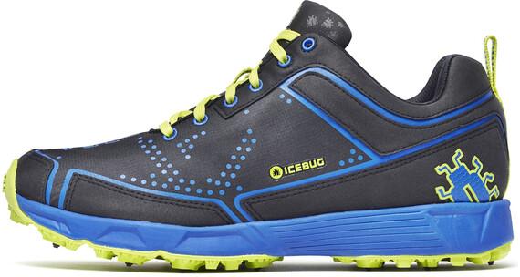 Icebug M's DTS2 BUGrip Shoes Black/Cobalt